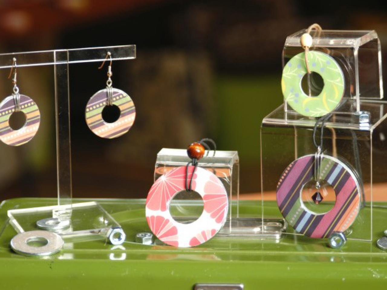 Turn Washers Into Jewelry Diy