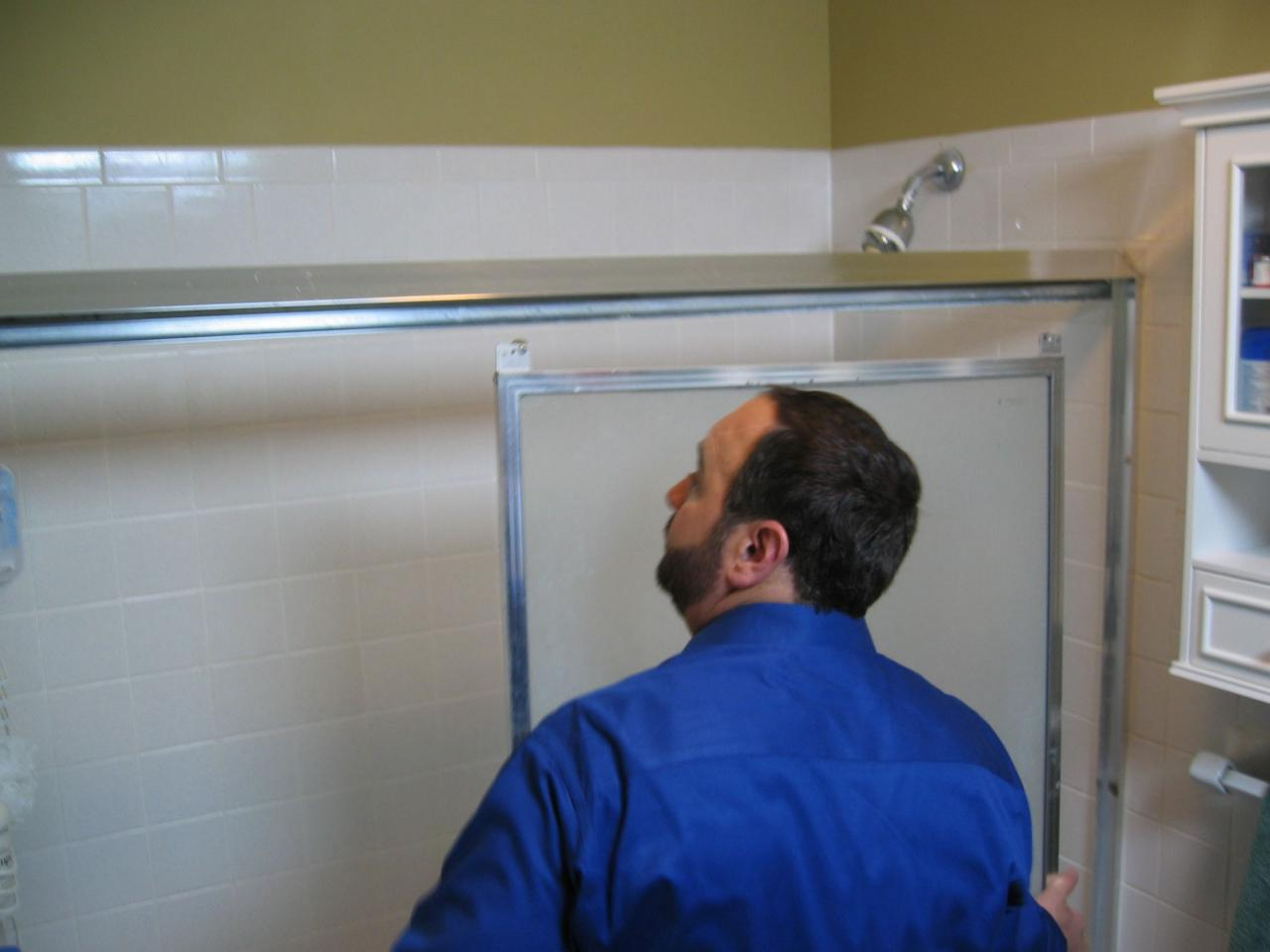 How To Replace A Shower Door How Tos Diy