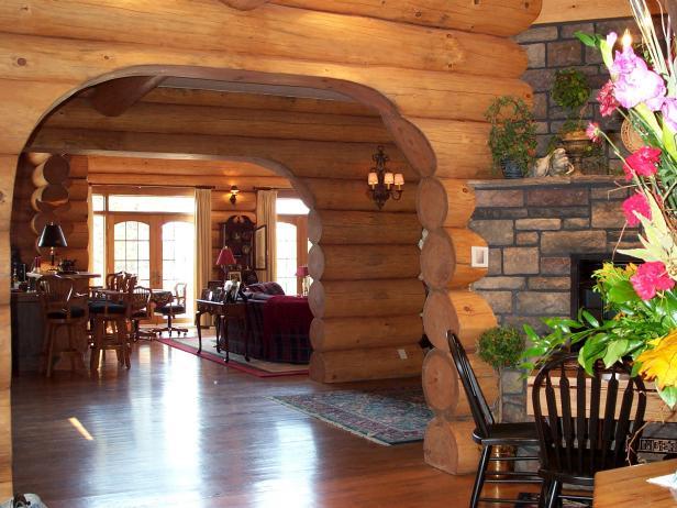 Elegant, Rustic Cabin Decor