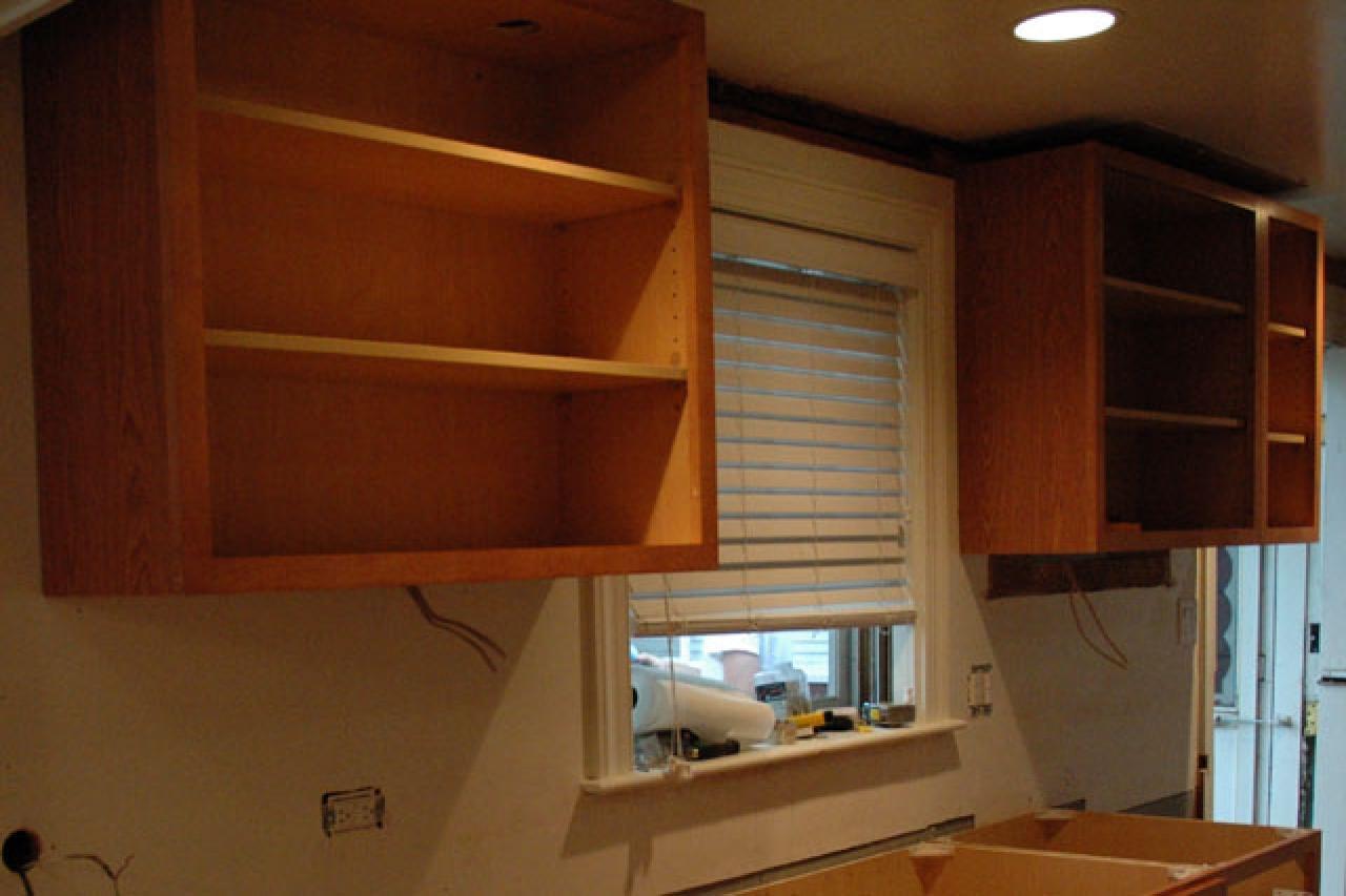 Cabinet Installation | how-tos | DIY