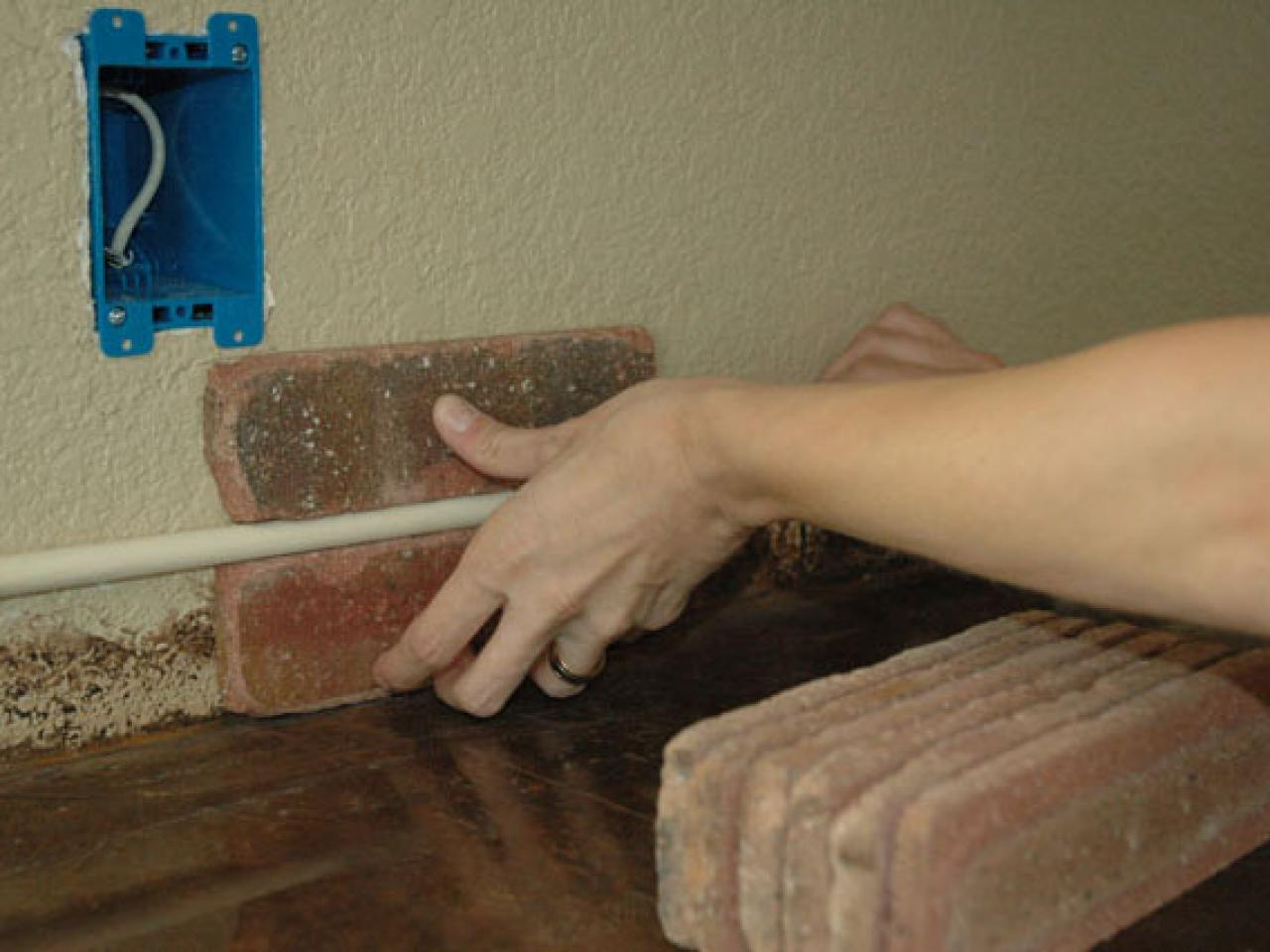 Brick tiles for backsplash in kitchen - Dseq201_3fa_brickpattern01