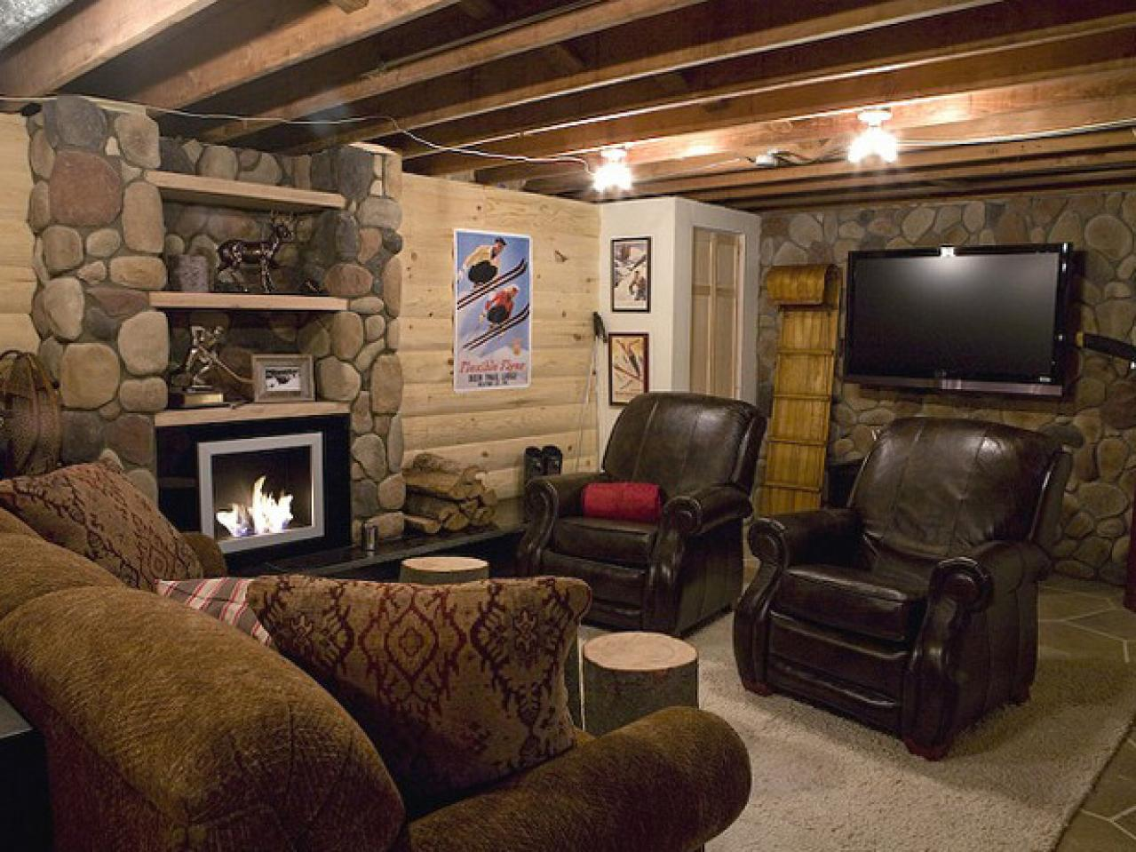 Awesome rooms from man caves diy home decor and Man cave ideas unfinished basement