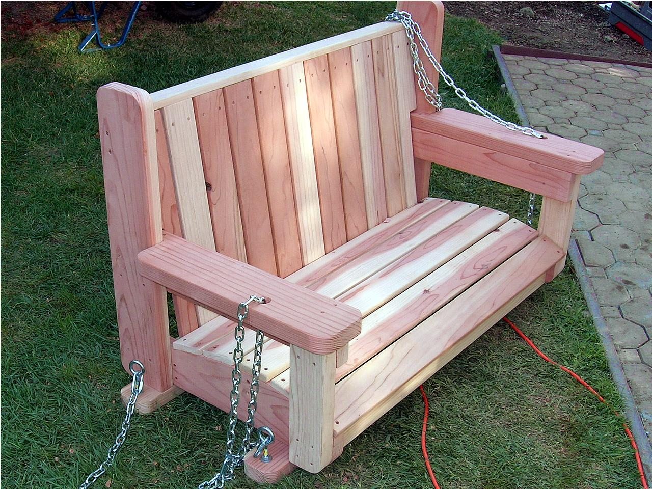 How to build a freestanding arbor swing how tos diy for How to build a swing chair