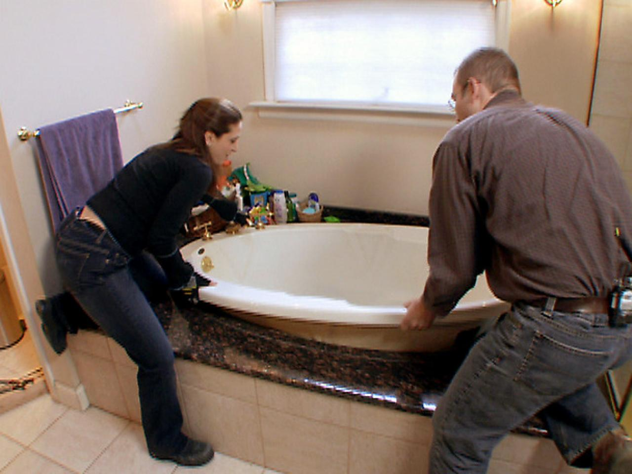 Bathroom Renovation Cost Whirlpool how to install a whirlpool bathtub | how-tos | diy