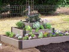 raised beds are great for limited spaces