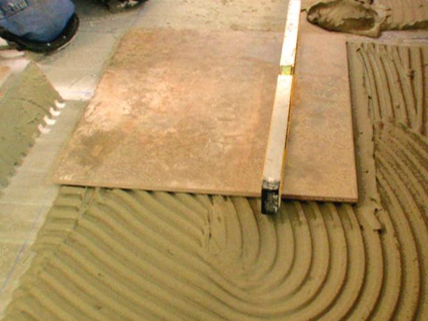 How to Install a Heated Tile Floor | how-tos | DIY