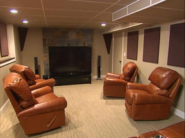 Home Theater With Recliners