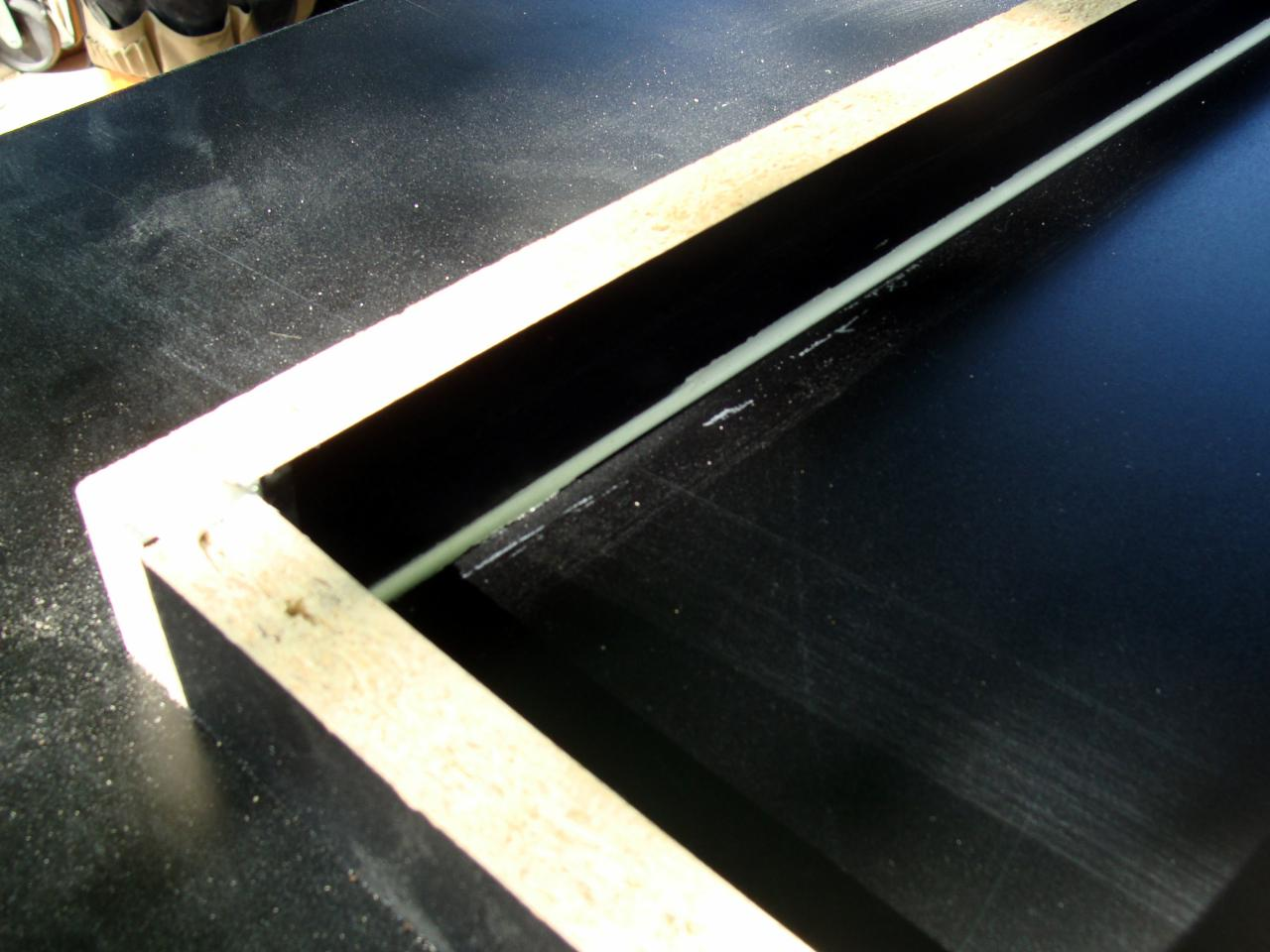 how to make template for countertop