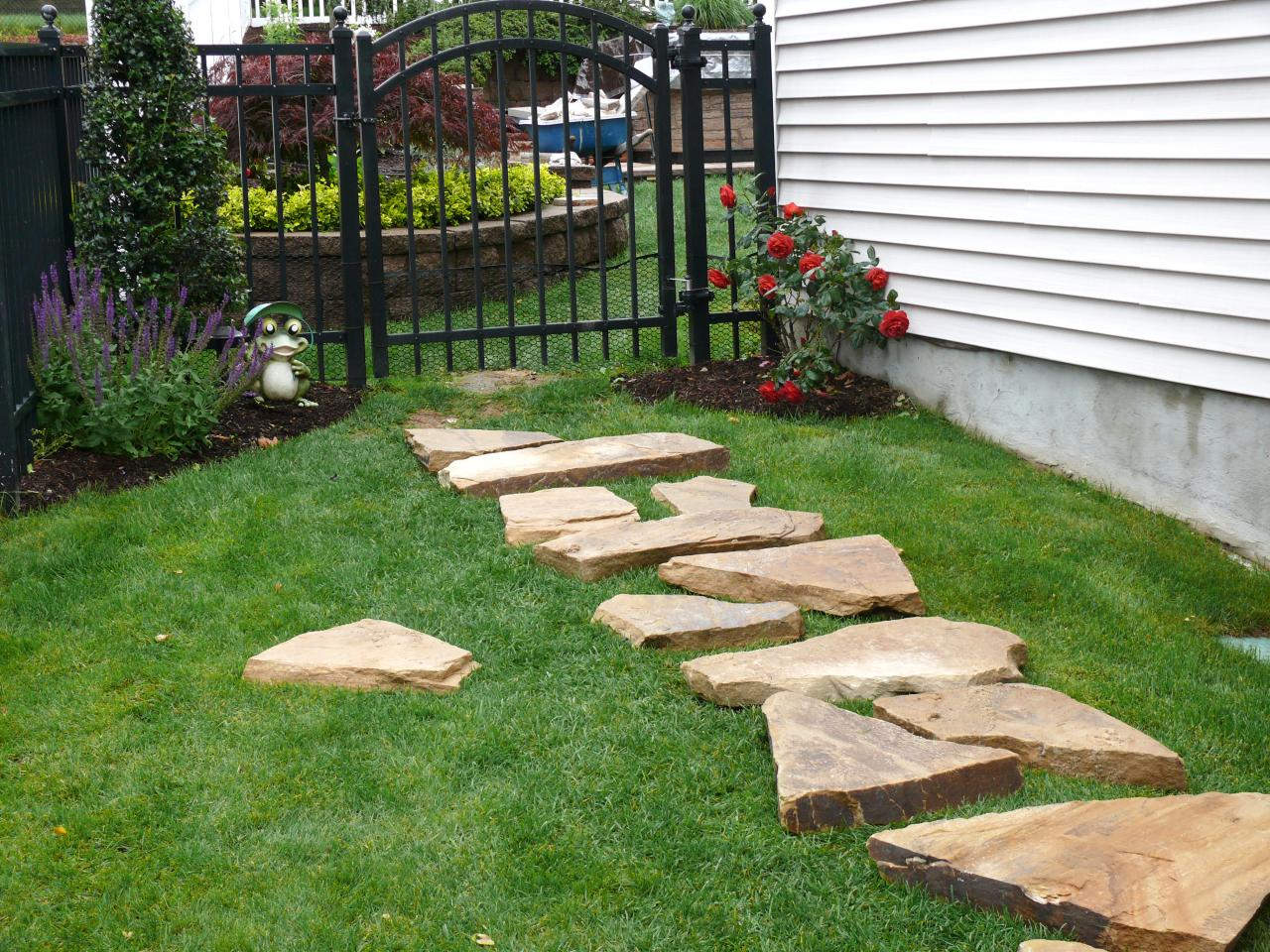 Good Check Flagstone Spacing