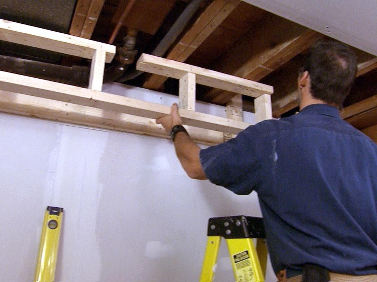 How to build a soffit how tos diy for How to build a box beam