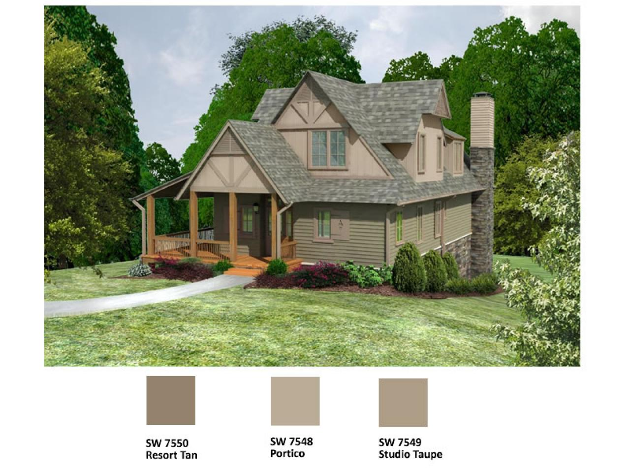 Blog Cabin 2009 Flooring And Exterior Paint Color Voting