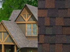 Rich Brown Shingles