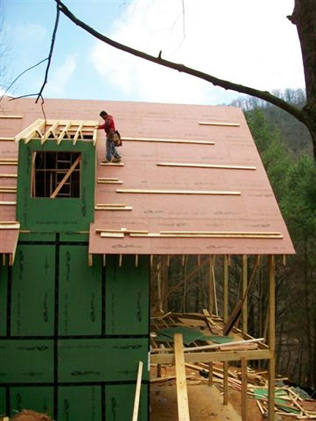 Blog Cabin Team Install the Dormer