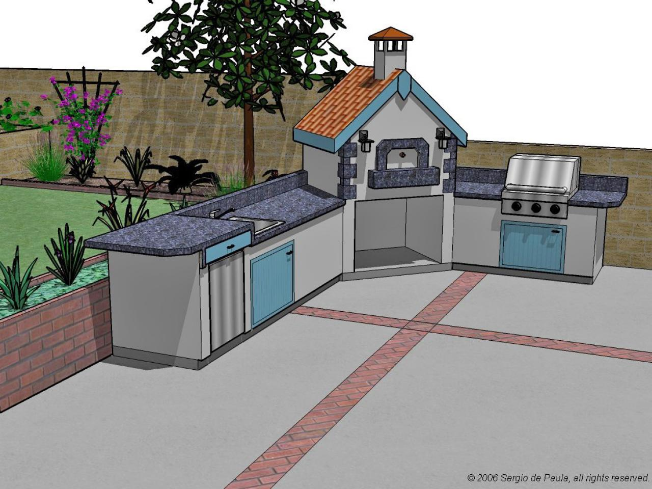 options for an affordable outdoor kitchen diy kitchen