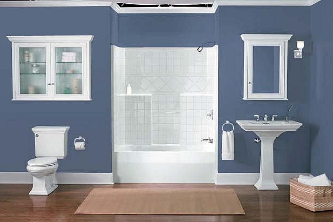 Winning Color Combos In The Bathroom