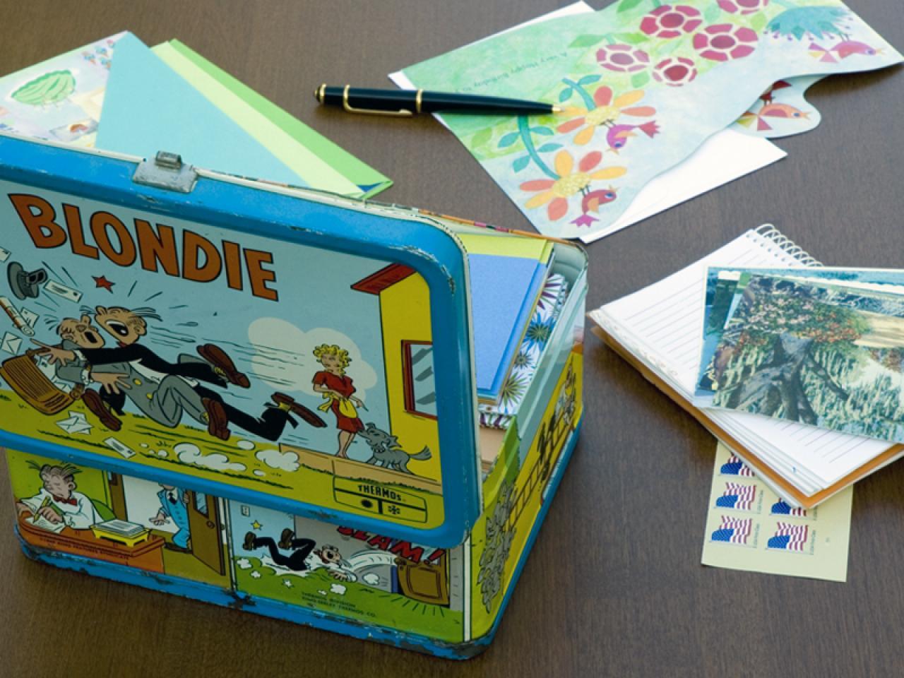 Back to school organize with lunchbox storage organization ideas