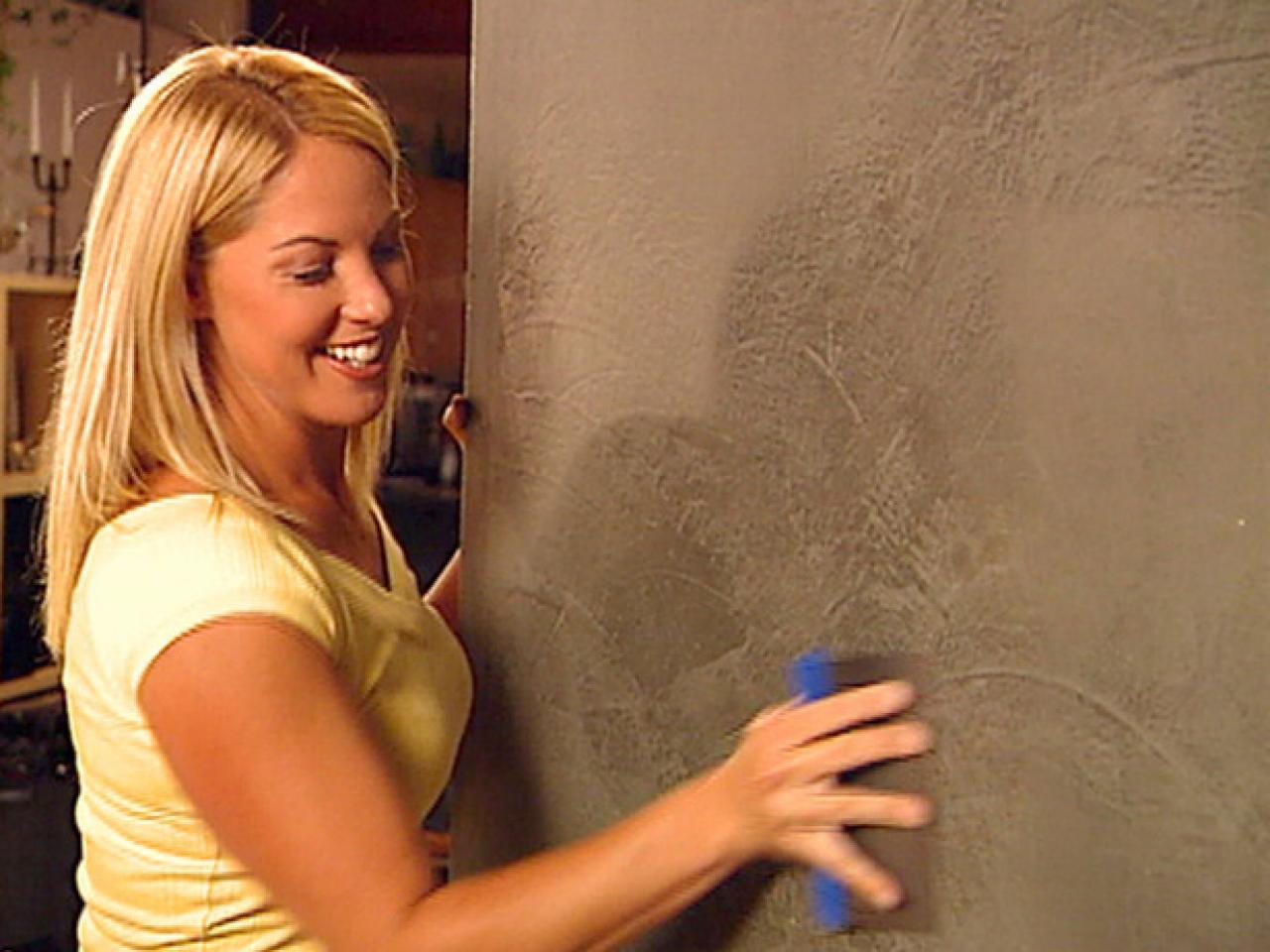 Decorative paint technique venetian plaster how tos diy step 4 amipublicfo Gallery