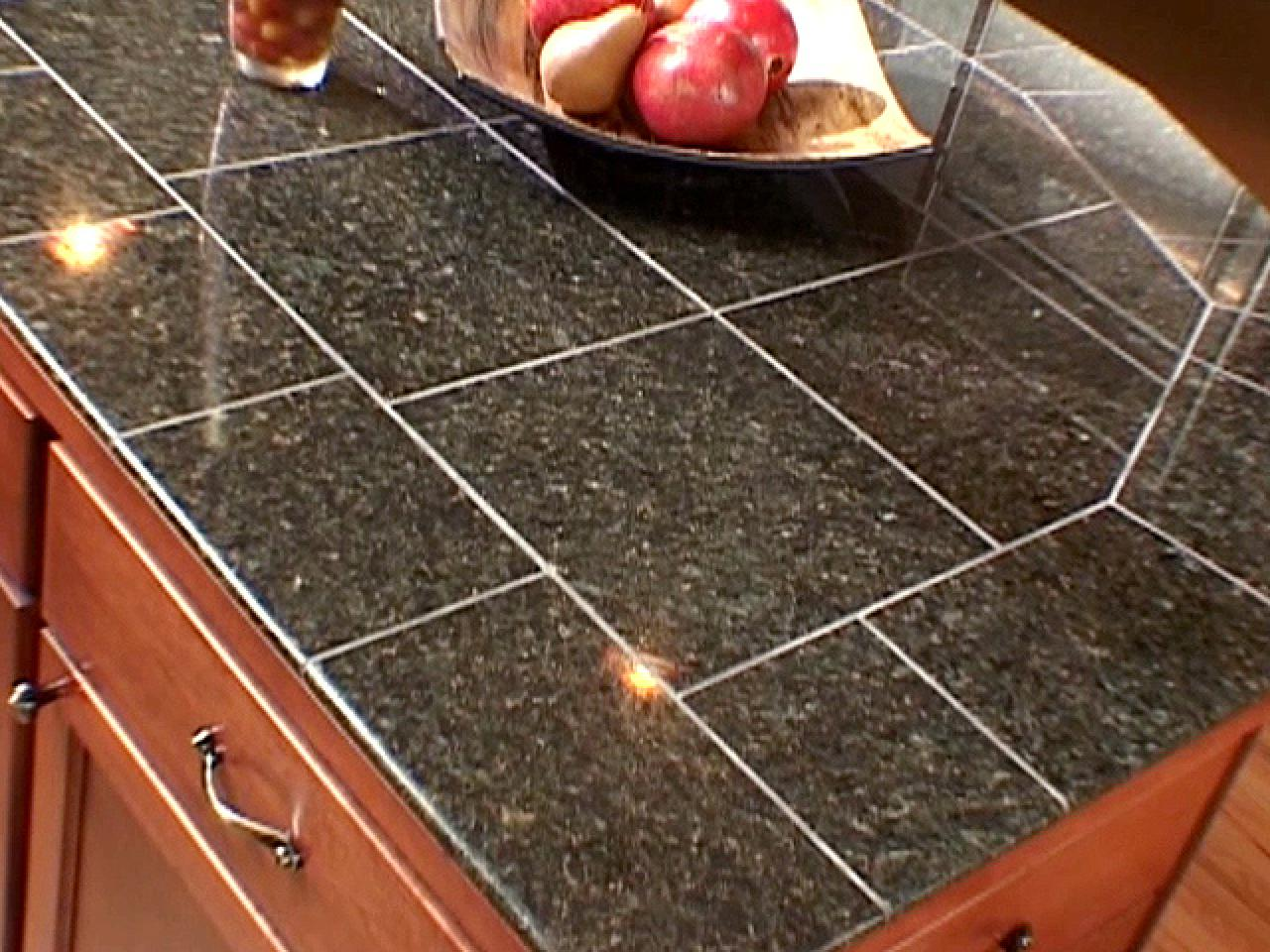 Tile Countertop Kitchen The Pros And Cons Of Granite Tile Diy