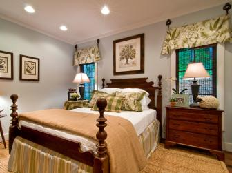 Blog Cabin's Cozy Master Bedroom