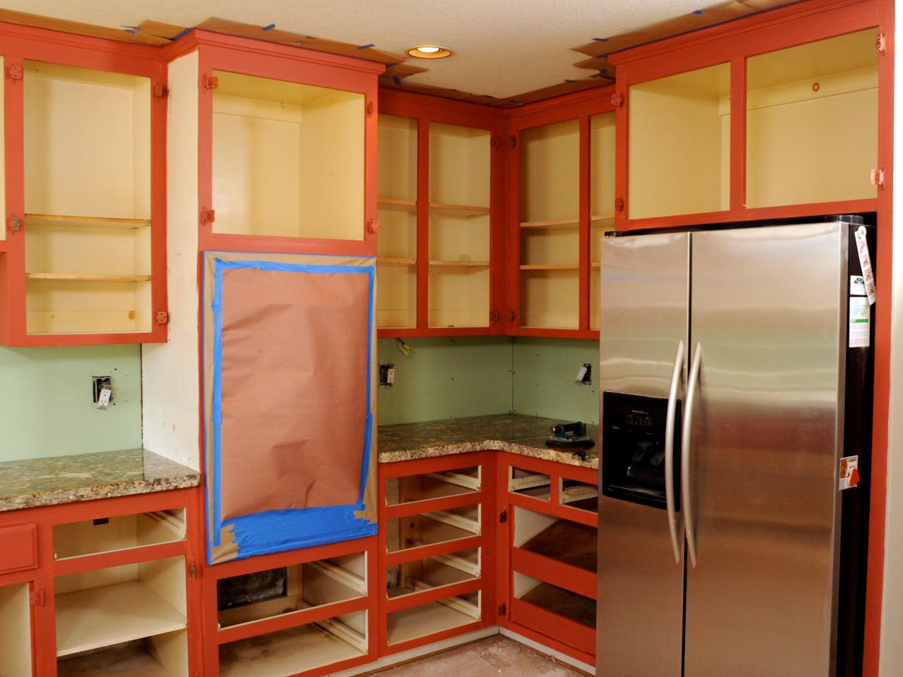 DIY Kitchen Cabinet Painting Tips Ideas DIY