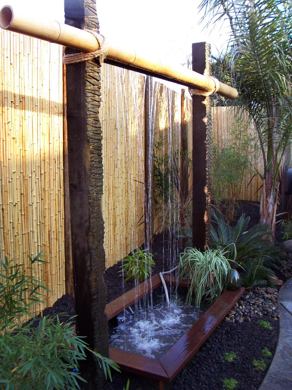 outdoor water features diy