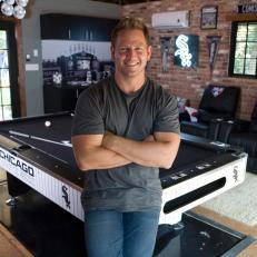 Man Caves Co-Host Jason Cameron