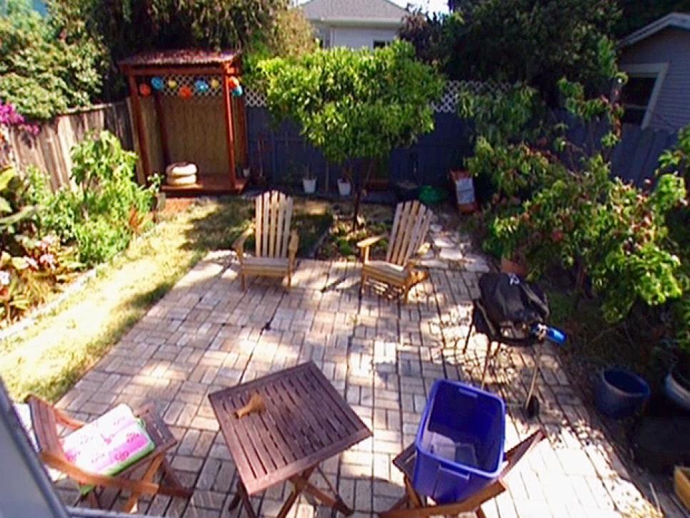 Landscaping Ideas For Uneven Yard : Beautiful backyard makeovers diy