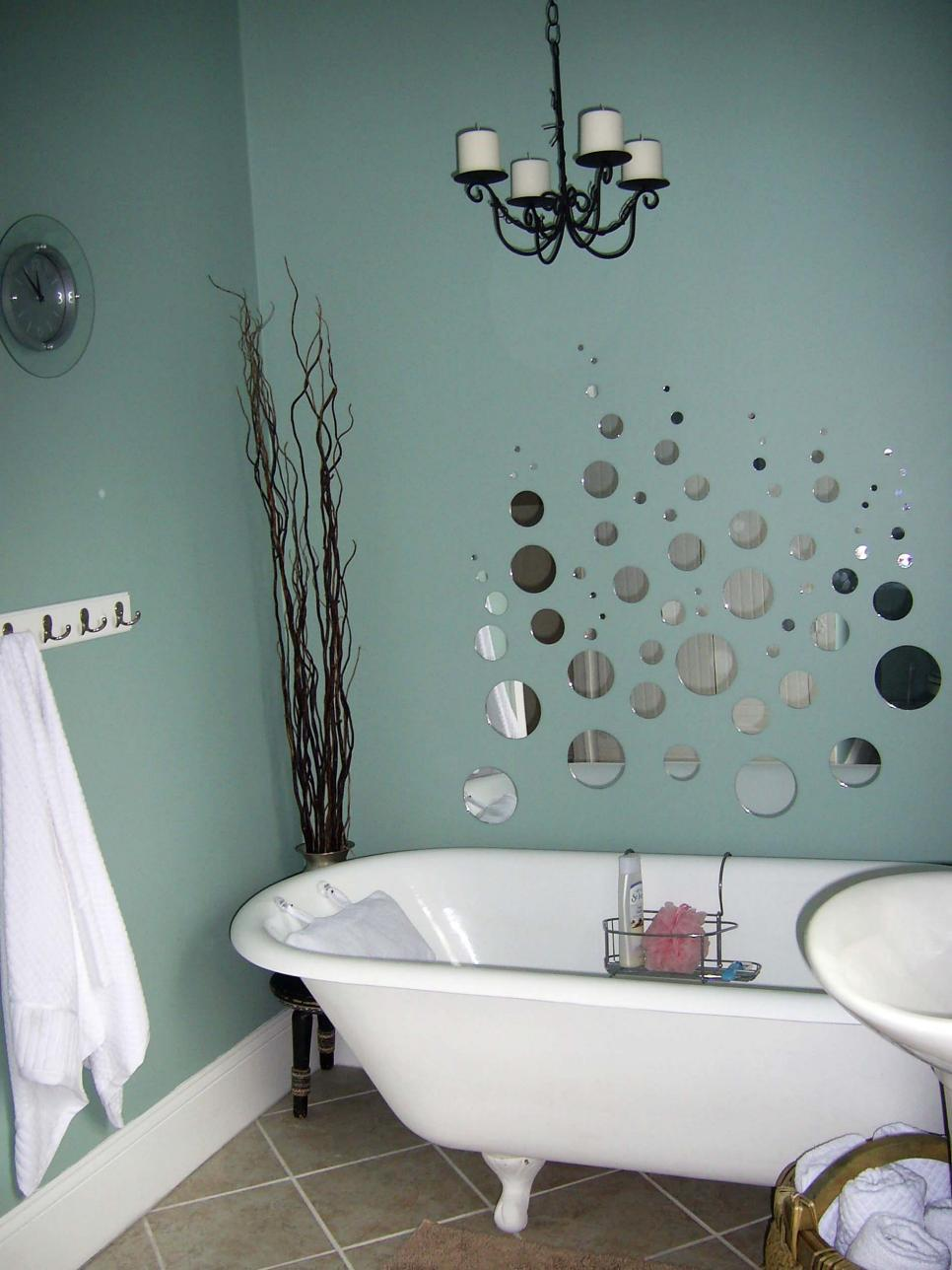Bathrooms on a budget our 10 favorites from rate my space for Bathroom decor colors