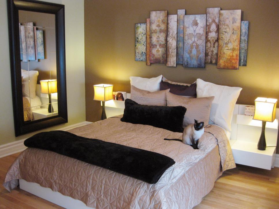 Bedrooms on a budget our 10 favorites from rate my space How to decorate a small bedroom cheap
