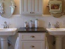 20 Upcycled and One-of-a-Kind Bathroom Vanities | DIY