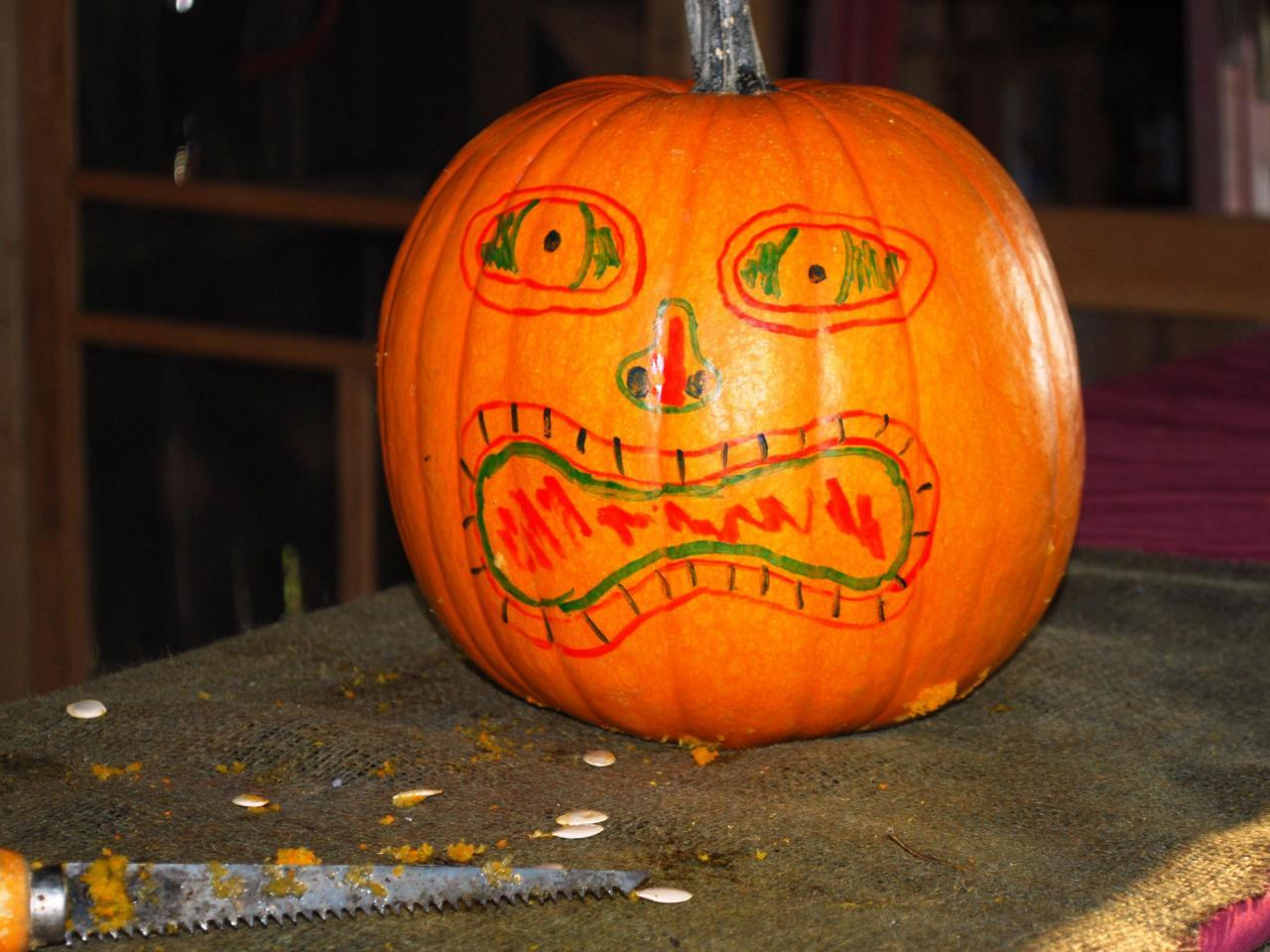 halloween pumpkin carving tiki jack o u0027 lantern how tos diy