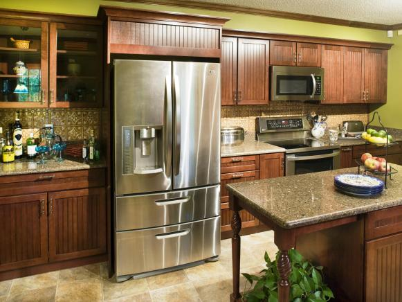 Completed Kitchen with Appliances