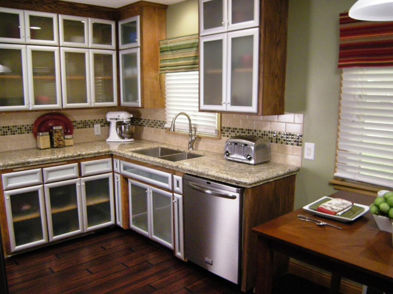 Budget friendly before and after kitchen makeovers diy for Kitchen cabinets on a budget