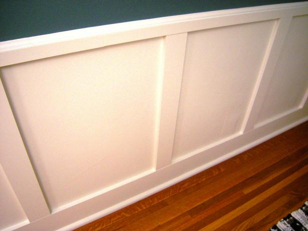 How To Install Recessed Panel Wainscoting How Tos Diy
