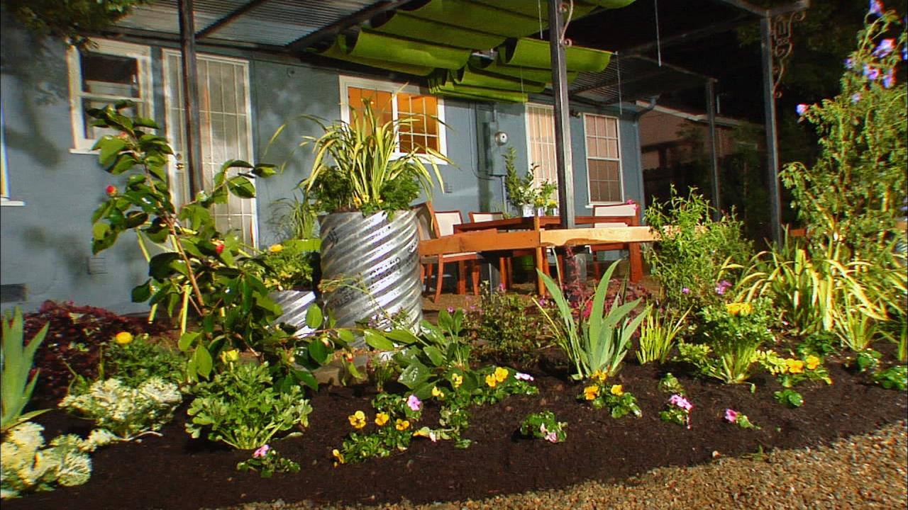 Backyard landscaping ideas diy for Simple garden design plans