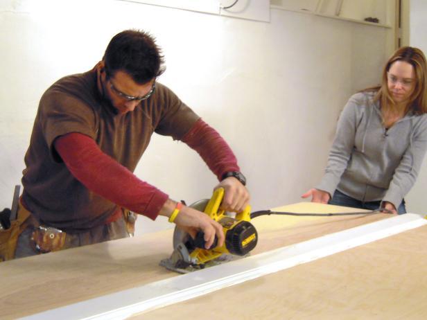 wine rack cut plywood