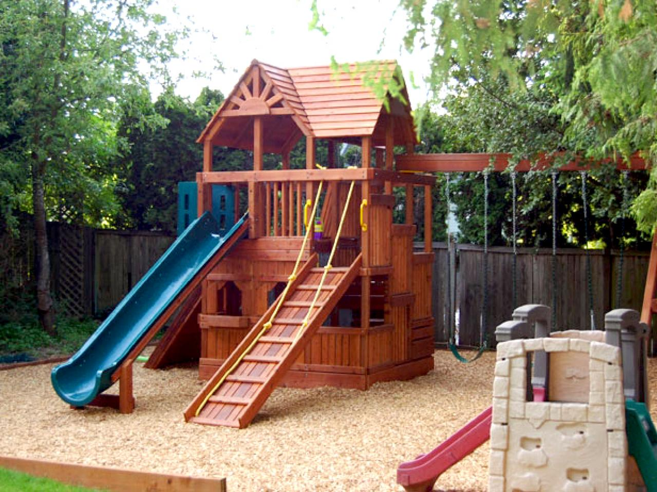 Places To Play DIY - Backyard playground equipment