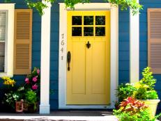 Front Door Colors Best Popular Colors To Paint An Entry Door  Diy Review