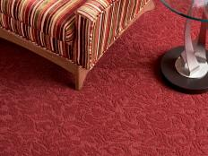C02152 DH Azure V Red Carpeted Room