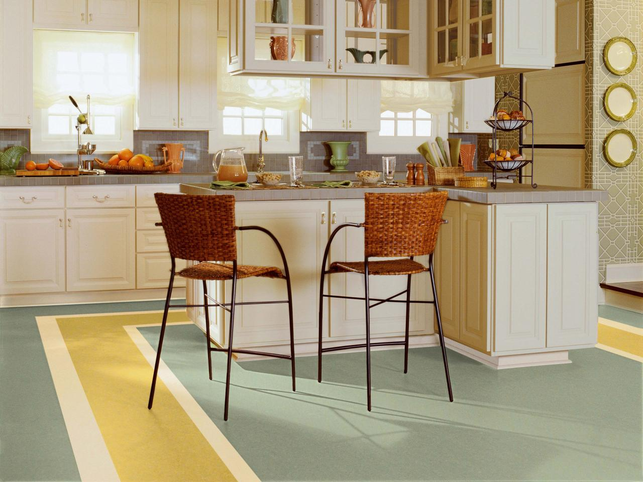 linoleum - Dining Room Flooring Options
