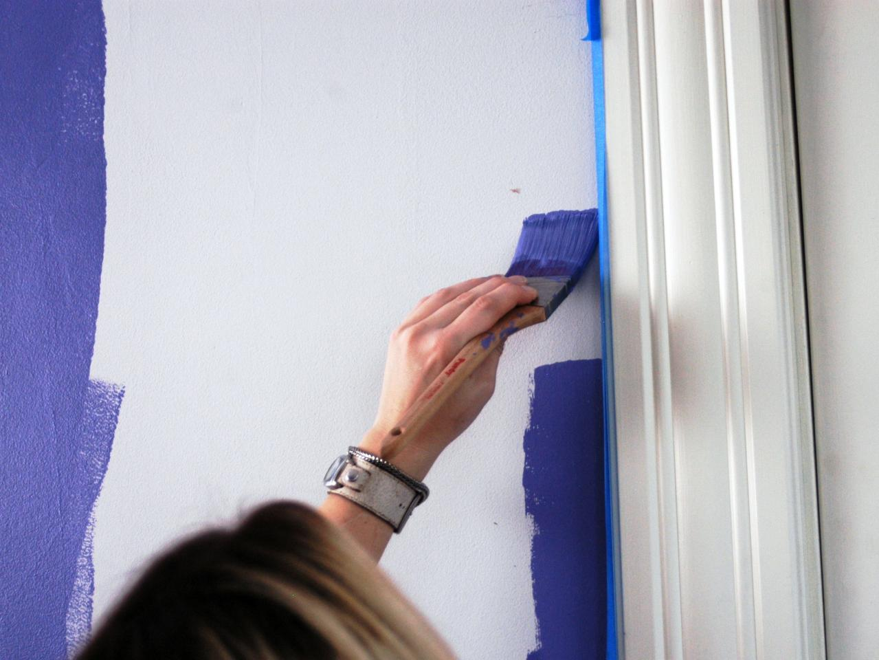 How to paint a room how tos diy for How to paint trim