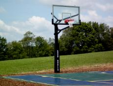 Child-Safe Basketball Hoop