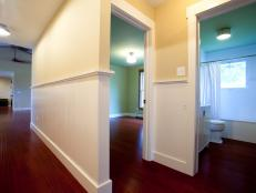 Hallway and Guest Bedroom