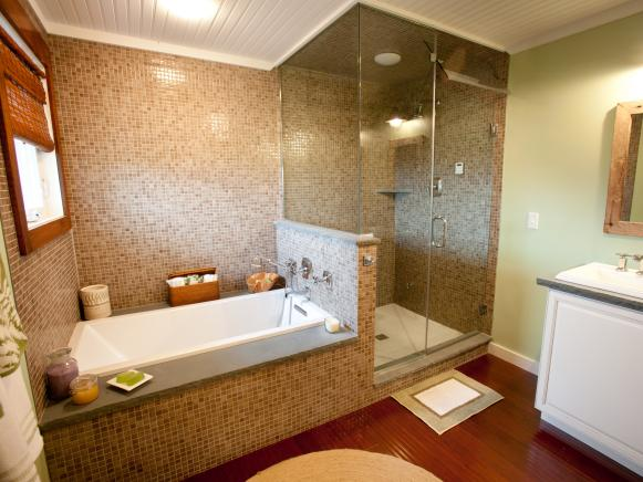 Master Bath Shower Enclosure