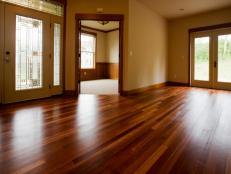 Polished Hardwood Floors