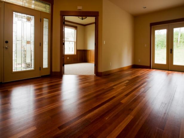 Polished Hardwood Floors