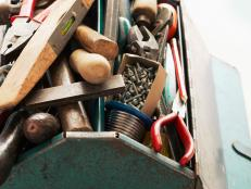 Closeup of Tools