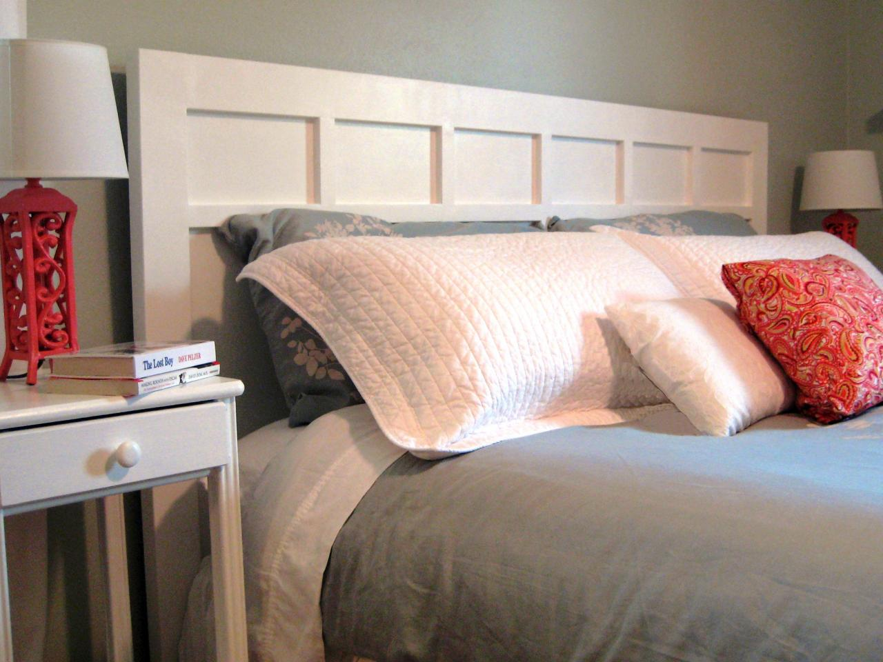 Easy Bed Headboard Ideas: DIY Headboards  53 Original Ideas for Easy Style   DIY Network    ,