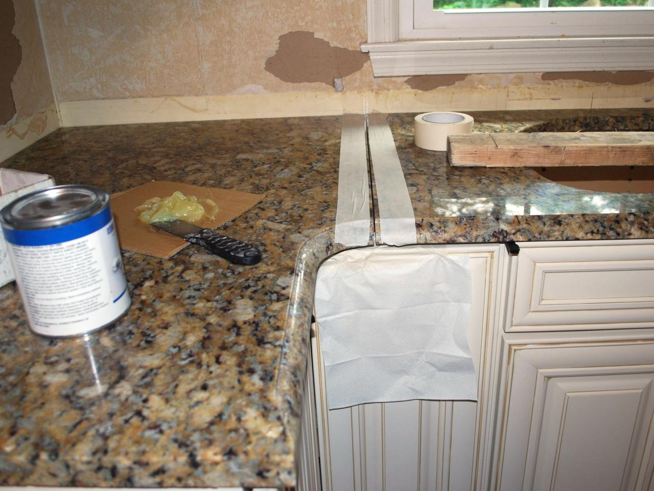 How to install a granite kitchen countertop how tos diy for 3 4 inch granite countertops