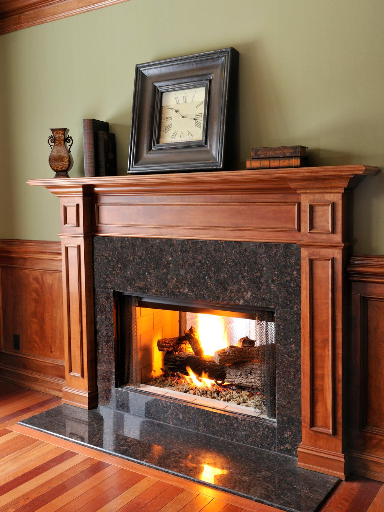 All About Fireplaces and Fireplace Surrounds | DIY